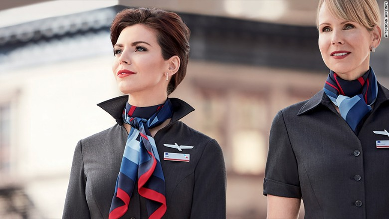 american airlines uniform