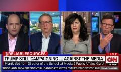 Trump applying authoritarian tactics against journalism?