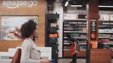 Amazon opens a grocery store with no checkout line