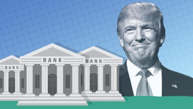 Trump promises to help bankers 'petrified' of regulators