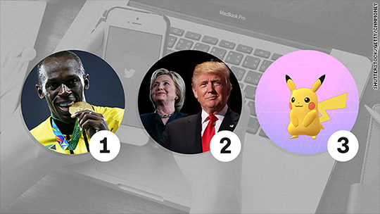 The top hashtag of the year had nothing to do with Donald Trump