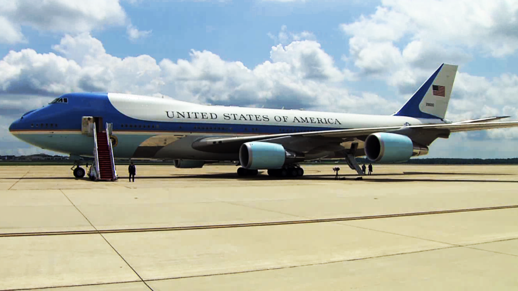 Deal for new Air Force One was announced in 2015