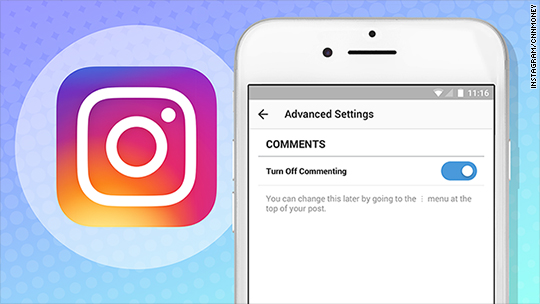 Instagram finally lets users like, disable comments
