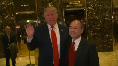 Trump: Japan's SoftBank to invest $50B in U.S. jobs