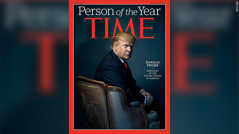 Trump named Time Person of the Year