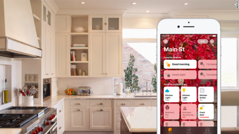 apple homekit kitchen