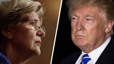 Elizabeth Warren warns Trump: Don't cut Medicare and Medicaid