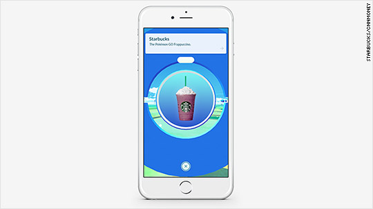 Starbucks introduces Pokémon Go Frappuccino