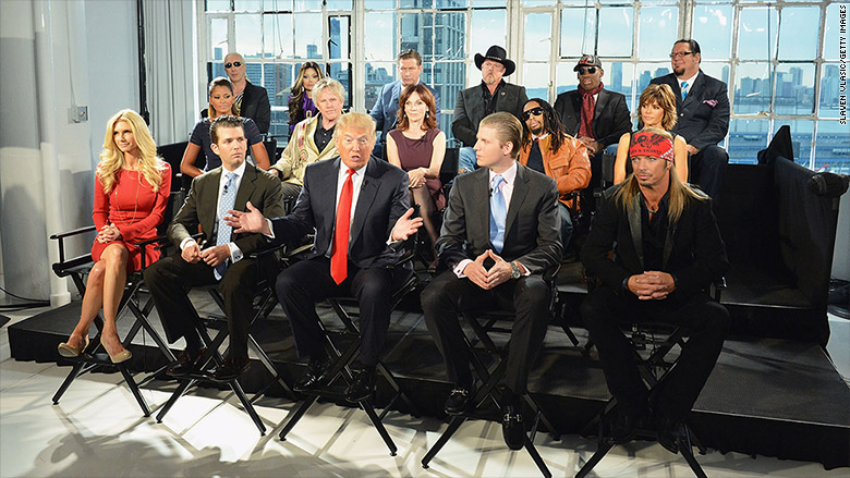 Trump may get brand money from 'Apprentice'
