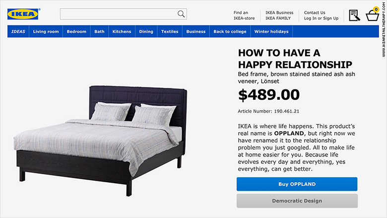ikea renames products after your secret anxieties