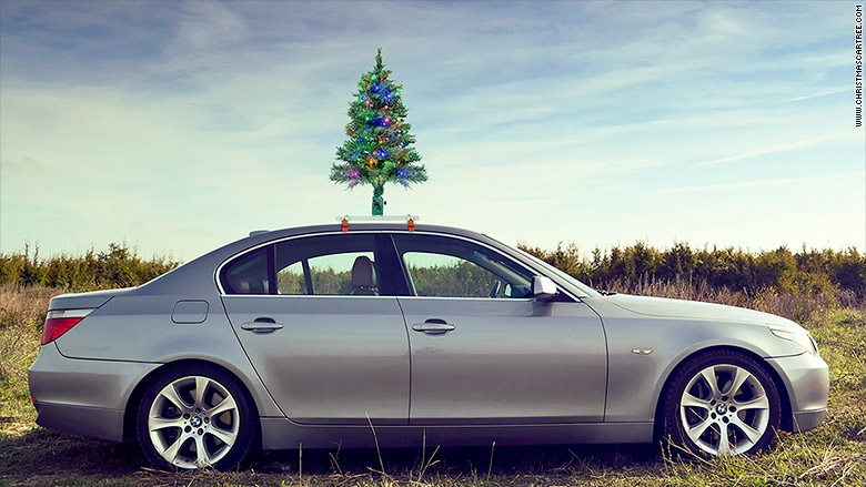 christmas car tree 1