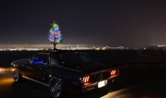Get your boring car into the holiday spirit