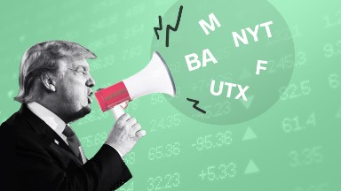 Good to be on Trump blacklist. Stocks he bashed soar