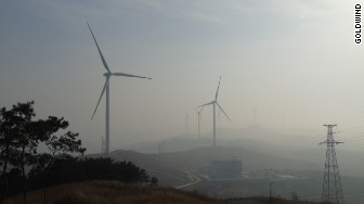 Goldwind wind turbine apple china