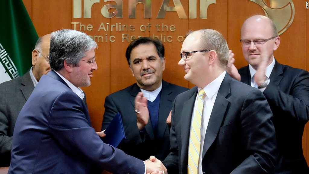 Boeing sells 80 jets to Iran Air