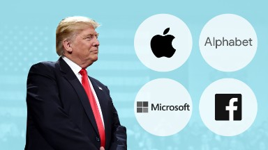 Tech thriving despite (or because of?) Trump