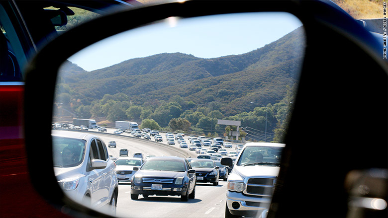 California ranked worst state for drivers by study