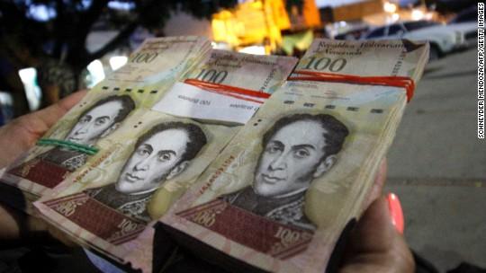 Venezuela tries a cryptocurrency to solve its economic crisis