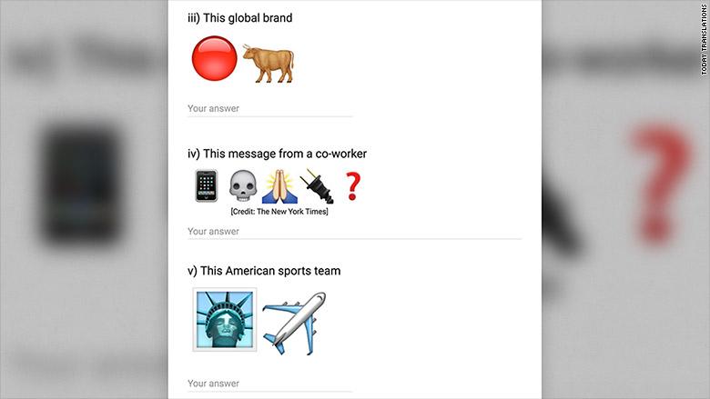 emoji translation test