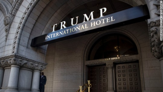 Dems demand to know if Trump violated DC hotel lease