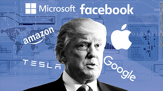 Silicon Valley's impossible Trump balancing act