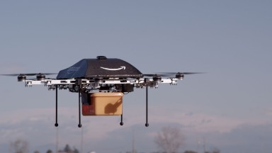 Amazon patent hints at floating warehouses in the sky
