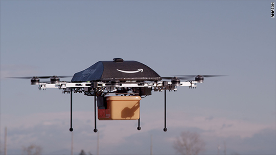 Amazon patent shows drone delivery 'beehives'