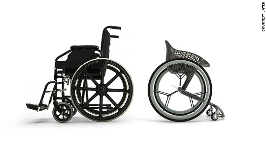 The 3D-printed wheelchair: a revolution in comfort?