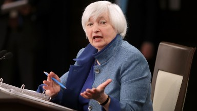 Janet Yellen touts economy before stepping down