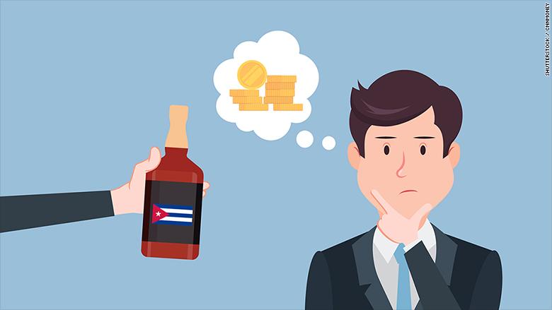 cuba debt rum