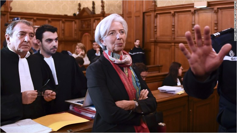 christine lagarde imf trial