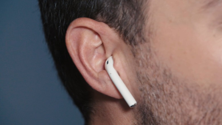Apple AirPods in Ear