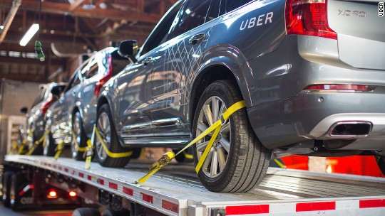 Uber to test self-driving cars in Arizona after California roadblock