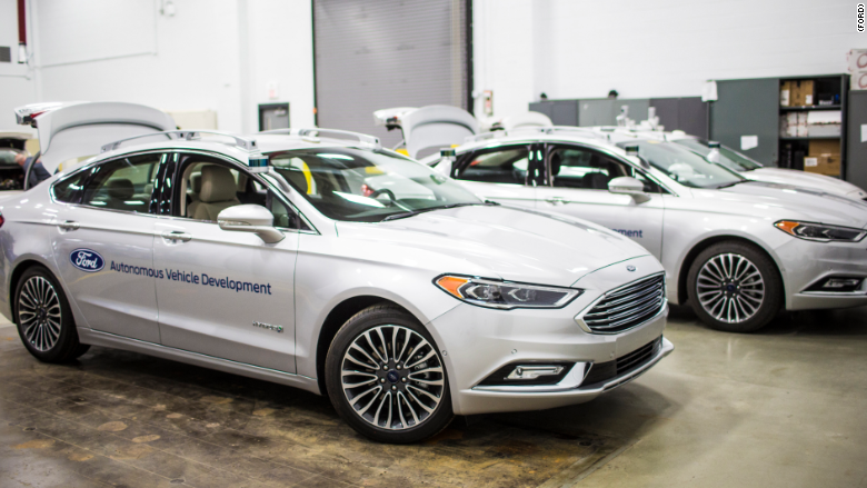 Smarter self-driving Fords look less out of place