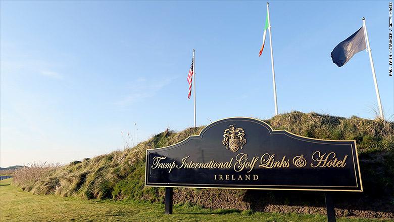 trump golf ireland trump international golf links