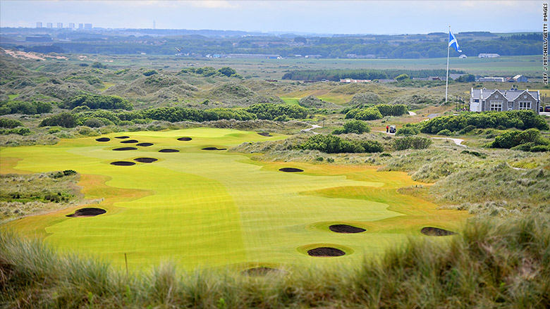 trump golf scotland trump international golf links