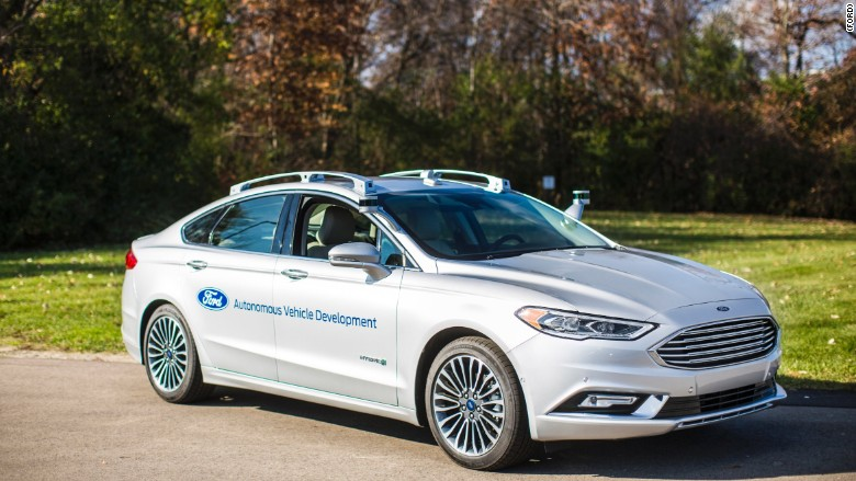 Ford reveals next generation Fusion Hybrid autonomous vehicle