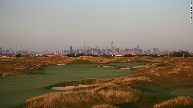 trump golf ferry point
