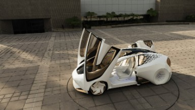 Toyota's far-out vision for the car of the future