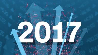 Stocks storm into 2017 as Trump rally resumes
