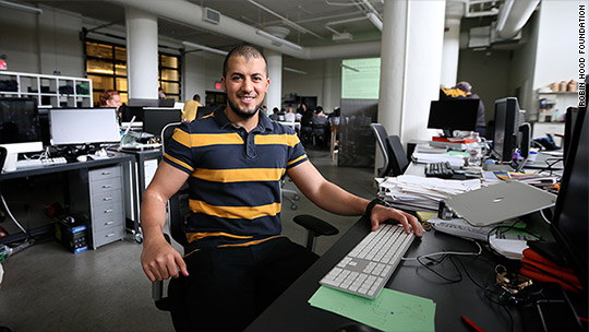 From shelter to startup: One Egyptian immigrant's success story