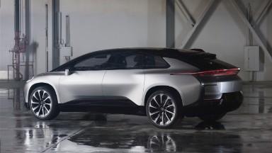 Faraday Future unveils slick car amid turmoil