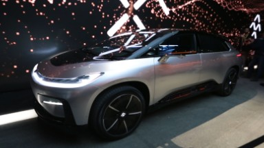 Faraday Future unveils first production car