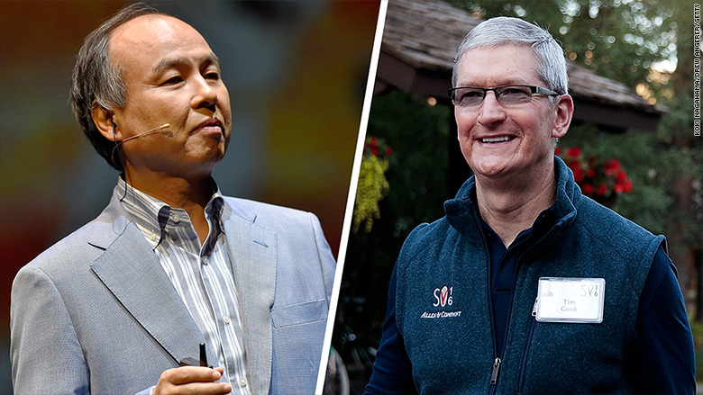 Apple invests $1 billion in massive tech fund