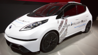 Nissan shows how driving will become a desk job