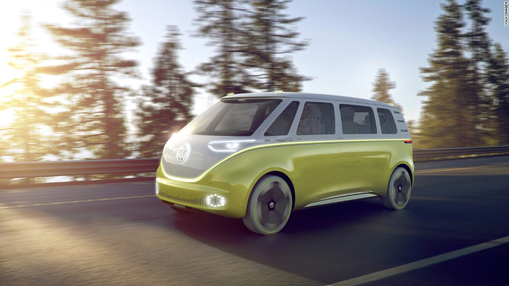 Volkswagen is making an electric, autonomous version of its classic minibus