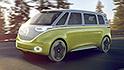 VW unveils electric microbus concept