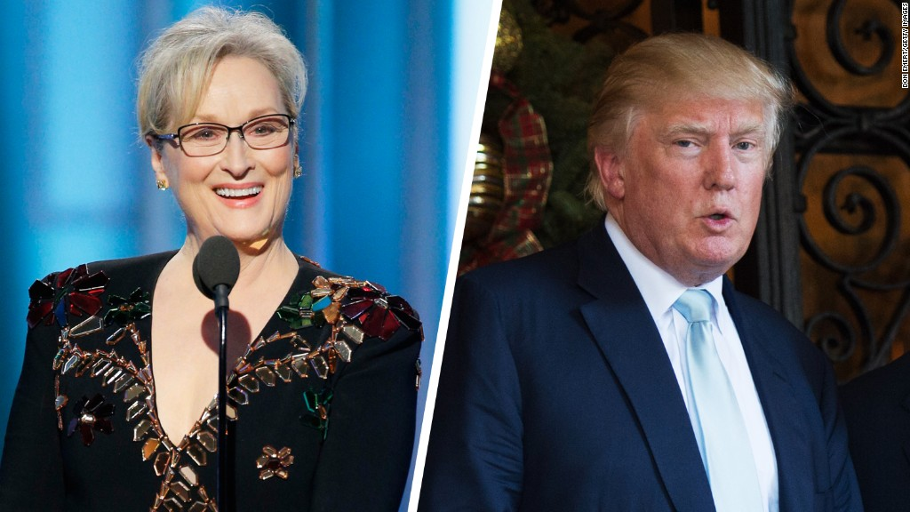 Image result for meryl streep trump speech