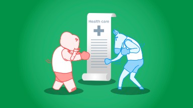 Health care battle cheat sheet: Democrats vs. GOP