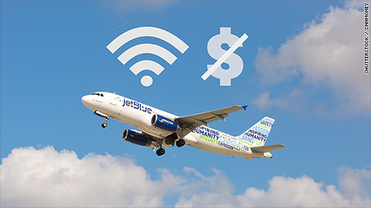 JetBlue just made WiFi free on all domestic flights